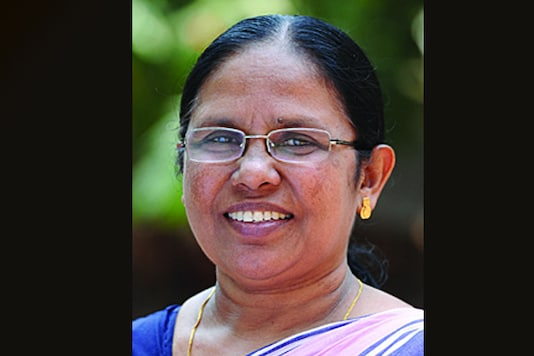 A file photo of Kerala Health Minister KK Shailaja. (Image courtesy: kerala.gov.in)
