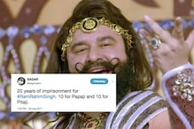Twitter's Happiness Doubles As Ram Rahim Gets 20 Years In Jail, Not 10