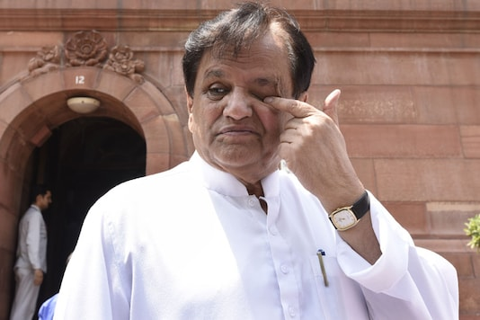 File Photo of Congress leader  Ahmed Patel. (File photo/Getty Images)