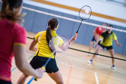 Badminton can be a great sport to try in summer as well as providing a range of health benefits. (Photo courtesy: AFP Relaxnews/ simonkr/ IStock.com)