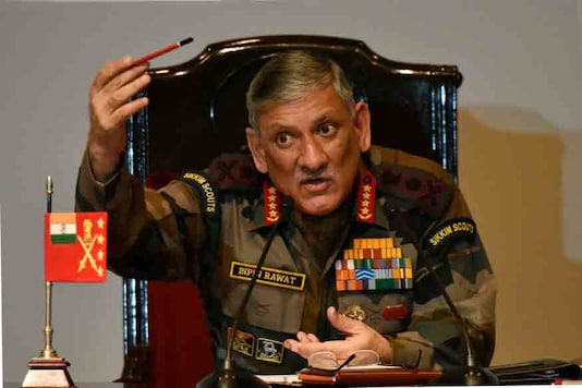 File photo of Army Chief General Bipin Rawat. (Getty Images)