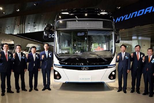 Hyundai Motor's Elec City all-electric-powered bus. Image for representation only. (Image: Hyundai)
