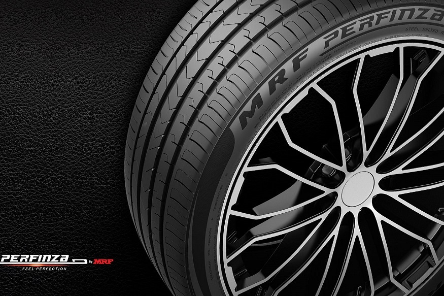 Mrf Launches New Perfinza Passenger Car Tyres News18