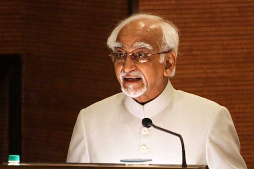 File image of former vice-president Hamid Ansari. (Image: Getty Images)