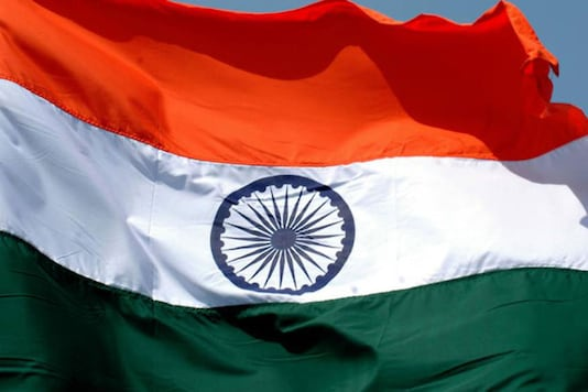 The Indian national flag. (AP Photo)