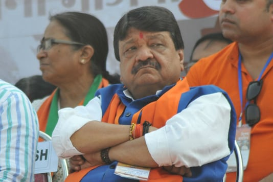 File photo of BJP leader Kailash Vijayvargiya.