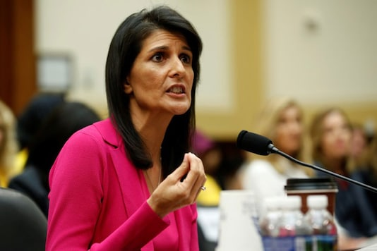 Former US Ambassador to the UN Nikki Haley made those remarks at the third India-US Leadership Summit.