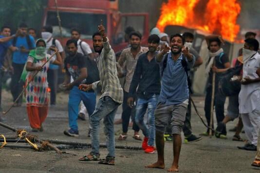 Dera Sacha Sauda followers went on a rampage in Panchkula, Haryana on Friday. (Reuters)