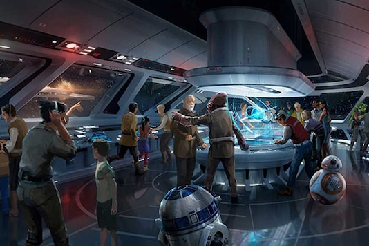 As part of Disney's Star Wars-themed hotel, resort and theme park, a new hyper-reality experience will open across Disney parks in the US. (Photo courtesy: AFP Relaxnews/ Disney Parks)