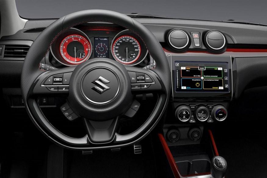2018 Suzuki Swift Sport Interiors. (Image: Suzuki)