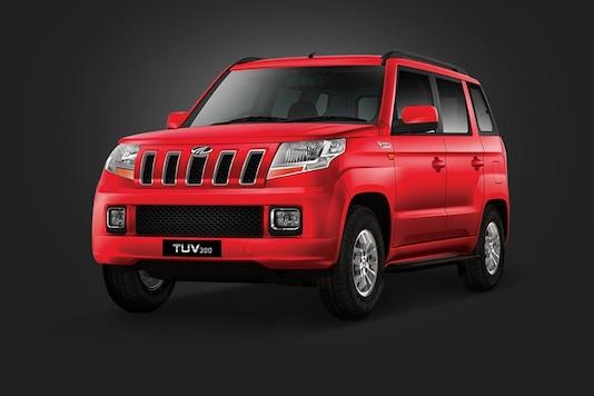 Mahindra TUV 300 compact SUV. (Image: Mahindra)