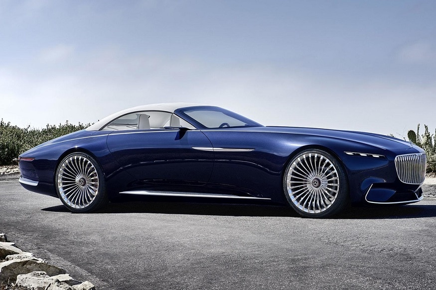 vision mercedes-maybach 6 cabriolet unveiled at pebble beach - news18