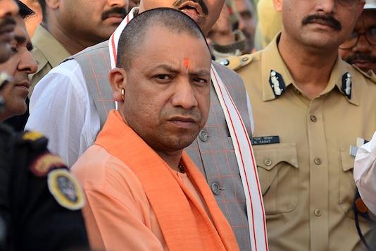 File photo of Uttar Pradesh chief minister Yogi Adityanath.