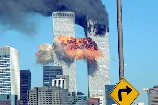File photo of the 9/11 terror attack. (Photo by Spencer Platt/Getty Images)