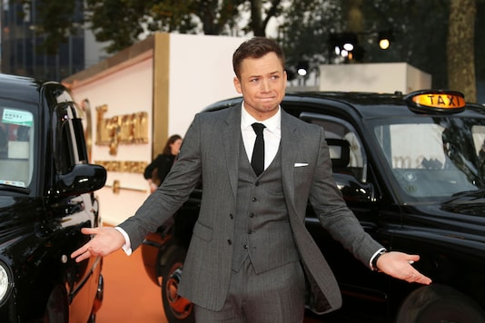 Actor Taron Egerton poses for photographers upon arrival at the premiere of the film 'Kingsman The Golden Circle' in London, Monday, Sept. 18, 2017. (Image: AP)