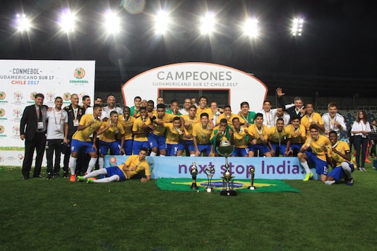 Image of Brazil U-17 Football Team (Image: AIFF)