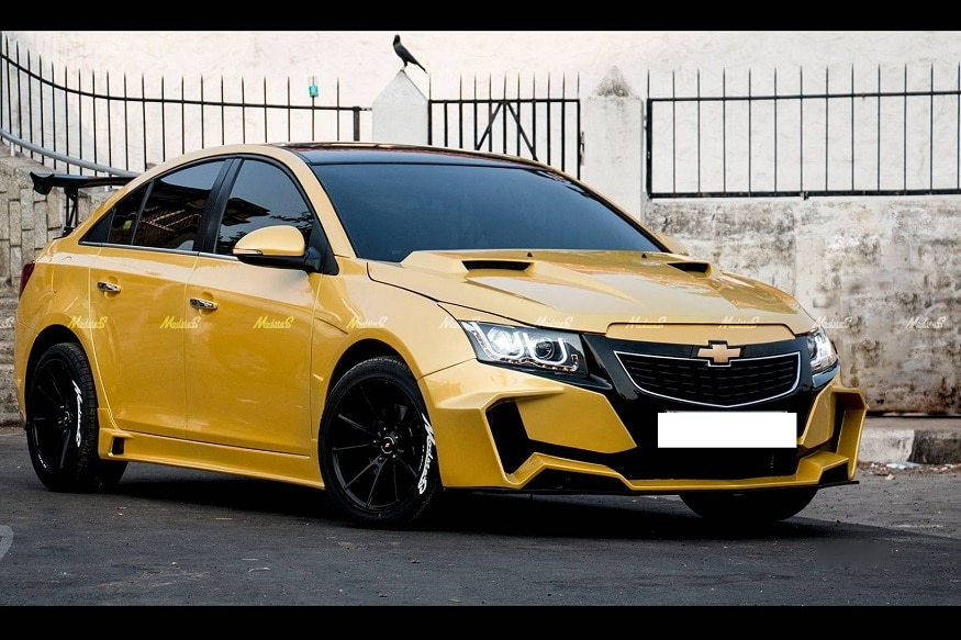 Transformer S Bumblebee Inspired Chevrolet Cruze Looks Insane News18