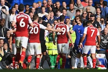 David Luiz Sent off as Arsenal Hold Chelsea to a Draw