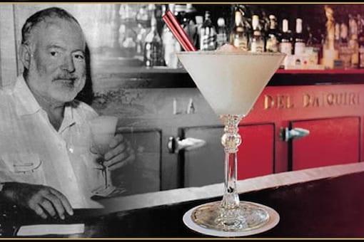 For author Ernest Hemingway,  Diaquiri with Cuban Rum, was a usual order at Cuba's El Floridita bar. (Image credits: www.floridita-cuba.com)