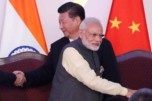 File photo of Prime Minister Narendra Modi and Chinese President Xi Jinping (AP Photo/Manish Swarup)