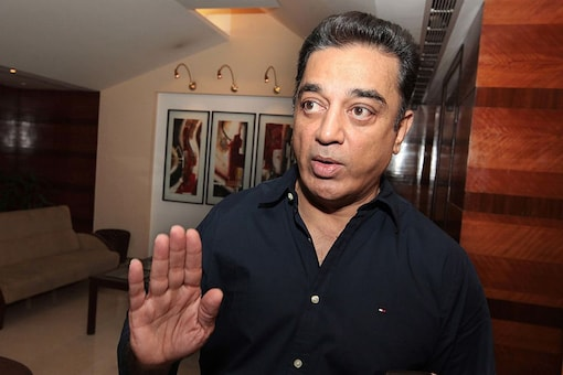 File photo of actor-turned-politician Kamal Haasan. (PTI)