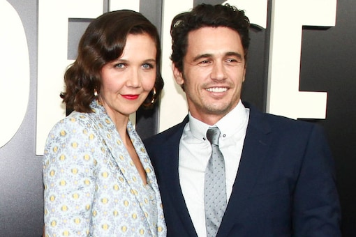 """Maggie Gyllenhaal, left, and James Franco, right, attend the premiere of the HBO Original Series """"The Deuce"""" at the SVA Theatre on Thursday, Sept. 7, 2017, in New York. (Images: AP)"""