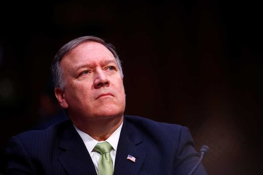 File photo of US Secretary of Stat Mike Pompeo .(Reuters)