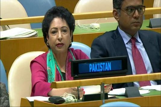 Pakistan's Permanent Representative to UN Maleeha Lodhi. (TV Grab/ CNN-News18)