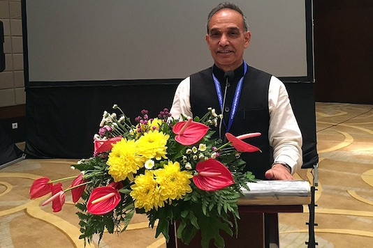 Minister of State for HRD Ministry Satya Pal Singh. (Twitter/ @dr_satyapal)