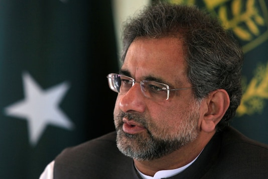File photo of Former Pakistan's Prime Minister Shahid Khaqan Abbasi. (Reuters)