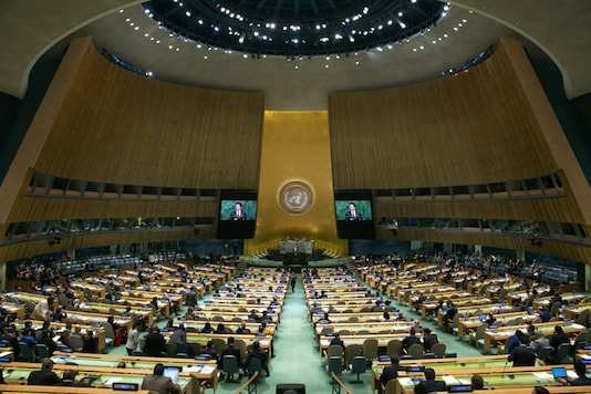 File Photo of UN Gnereal Assembly.