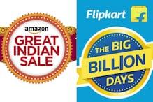 Flipkart, Amazon, Snapdeal Festive Sale Begins, Social Media Not So Interested