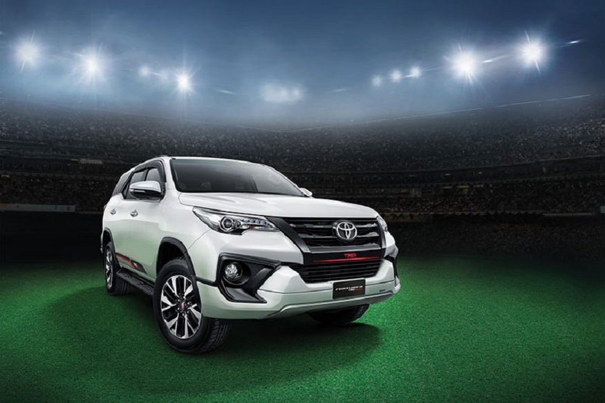 Toyota Fortuner Trd Sportivo Launched In India For Rs 31 01 Lakh