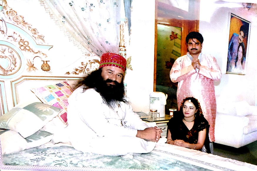Caught Honeypreet Having Sex With Ram Rahim, They Used to Sleep in