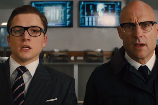 Image; A still from Kingsman; The Golden Circle