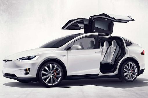 Tesla's Model X . (Image: Tesla)