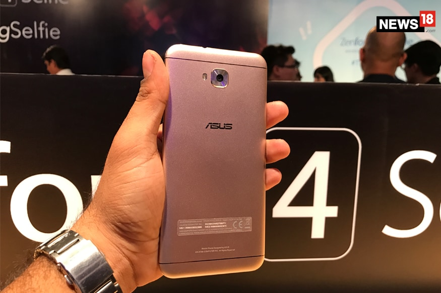 ZenFone 4 Selfie  comes with a 13-megapixel sensor at front as well as back, both with support for Portrait mode (image: News18)