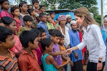 Queen Rania of Jordan Meets Rohingya Muslims