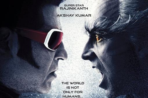 The poster of S Shankar's 2.0.