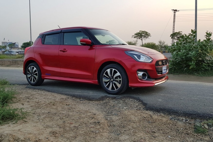 2018 maruti suzuki swift rs turbo spotted in pakistan news18. Black Bedroom Furniture Sets. Home Design Ideas
