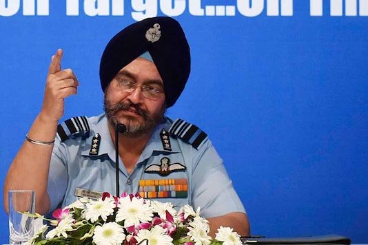 File photo of Air Chief Marshal BS Dhanoa. (Getty Images)
