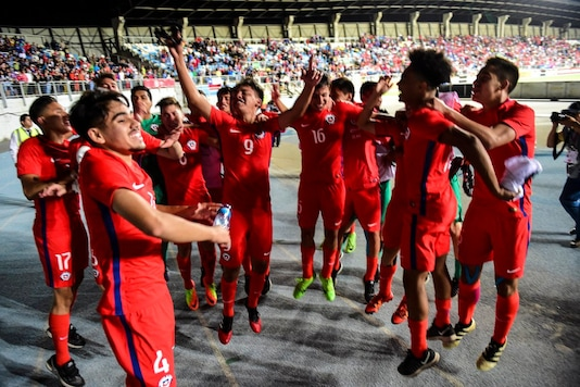 File Image of Chile U-17 football team (Twitter/SN Canada Soccer)