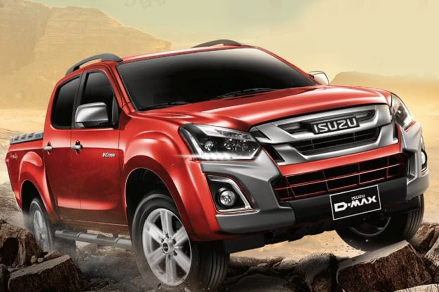 isuzu motors launches 2018 d max v cross inaugurates new dealer in pune news18. Black Bedroom Furniture Sets. Home Design Ideas