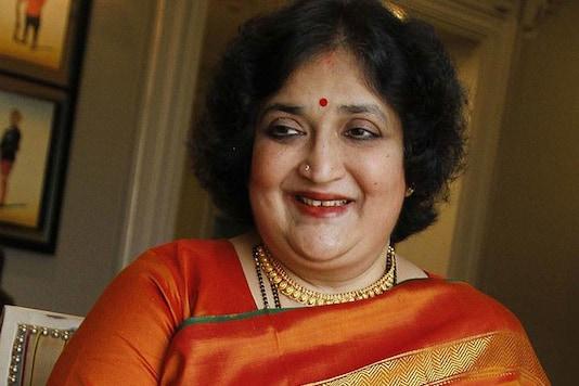 File photo of superstar Rajinikanth's wife Latha Rajinikanth. (GETTY IMAGES)