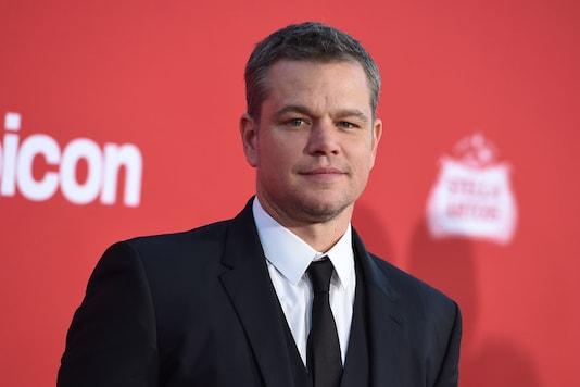 Actor Matt Damon. (Image: AP)