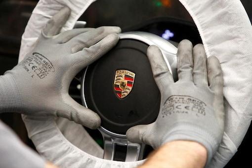 Porsche logo. (Photo: Reuters)