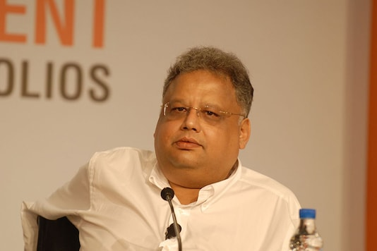 Rakesh Jhunjhunwala. (via Getty Images)