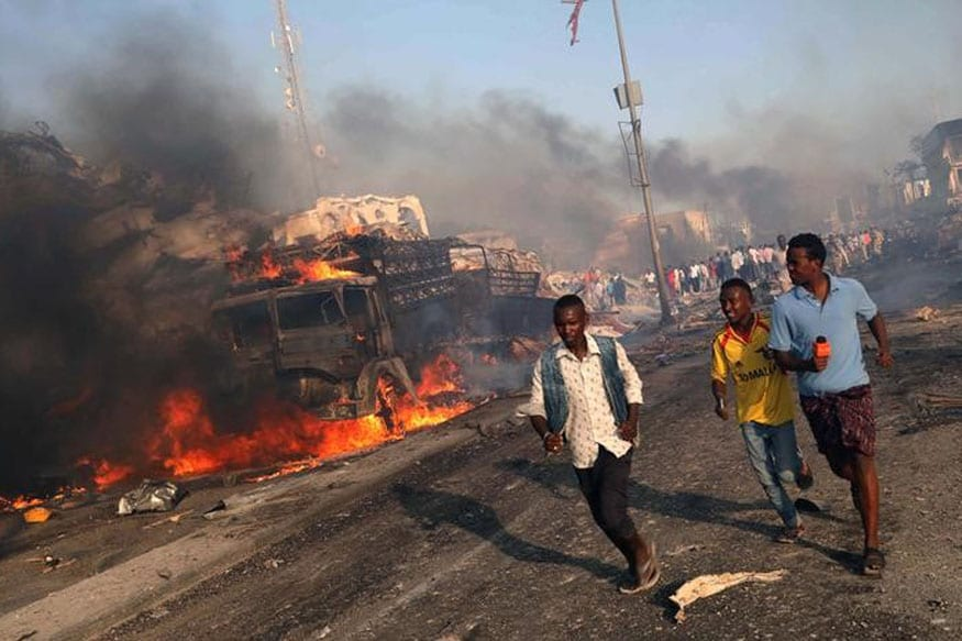 276 Killed, 300 Injured in Truck Bomb Explosion in Somalia's