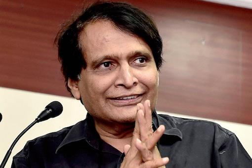 File Photo of Suresh Prabhu (PTI Photo).