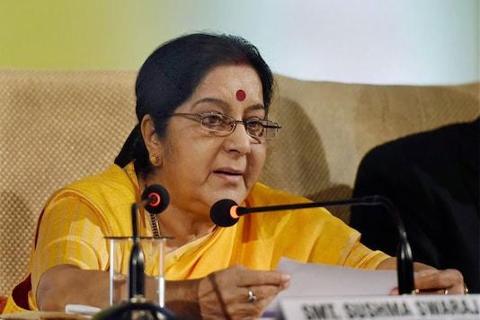 File photo of Sushma Swaraj. (PTI)
